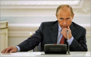 Vladimir Putin. PHOTO by AP.