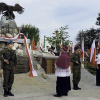 Unveiling of the Konspiracyjne Wojsko Polskie Monument in Radomsko, Poland, September 26, 2010.