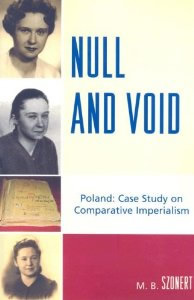 Null and Void by Maria Szonert, excerpts