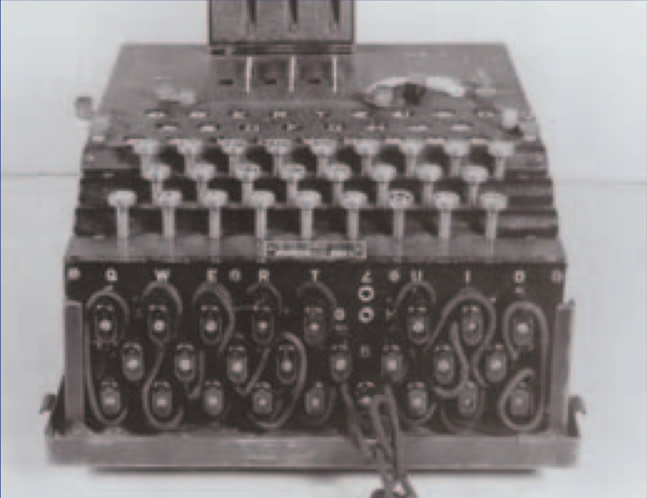 Enigma Machine (Courtesy of National Security Agency)