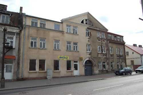 Present view of the former County Office for Pubic Security (PUBP) in Grajewo at 17 Mikolaj Kopernik Street.