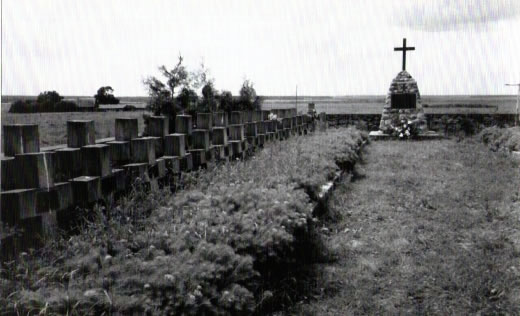 Graves of Home Army soldiers in Surkonty.