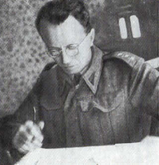 "Major Maciej Kalenkiewicz, nom de guerre ""Kotwicz"" Polish Home Army Soldier - London, England, 1940-1941"