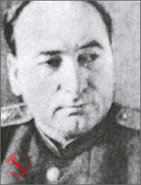 Lieutenant General Panteleimon Ponomarenko, First Secretary of the Communist Party of Belarus.