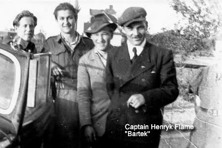 Henryk Flame, Captain, Murdered by Polish Secret Police