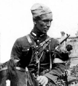 "Major Marian Bernaciak, nom de guerre ""Orlik"" posthumously decorated with Grand Cross of Polonia Restututa"