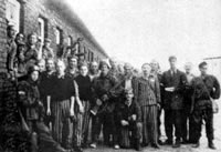 Home Army Liberated Jewish Prisoners at the Gesiowka Concentration Camp, August 1944