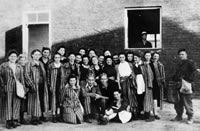 "Jewish women liberated by Polish Home Army Soldiers from the ""Zoska Batalion"""
