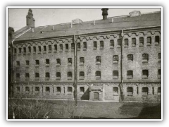 Mokotow Prison - Former MBP Investigations Prison on Rakowiecka Street in Warsaw, Poland.