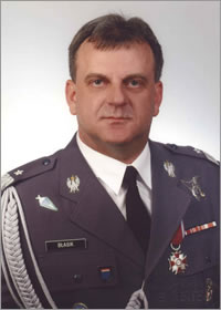 Lieutenant General Andrzej Błasik, the Commander of the Polish Air Force who died on April 10, 2010 near Smolensk, Russia.