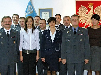 """Professional in every respect"" - The crew of the Polish Air Force TU-154M, Flight PLF 101 with General Andrzej Blasik, Commander of the Polish Air Force."