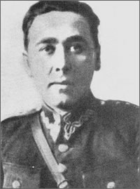"Lt. Col. Julian Kulikowski nom de guerre ""Ryngraf"", professional officer of the Polish Army. From July 1944 to January 1945 the Commander of the Home Army Vilnius Province."
