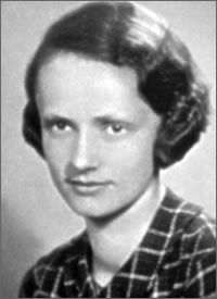 "Barbara Skarga nom de guerre ""Ewa"", the chief of the Vk Unit [underground contact] of the Home Army Vilnius Province Command from August 1944."